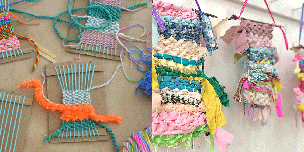 Saturday FREE Art Activity: Weaving Fun!
